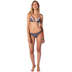 Rip Curl Odesha Geo Fixed Tri Bikini Top Dames, black